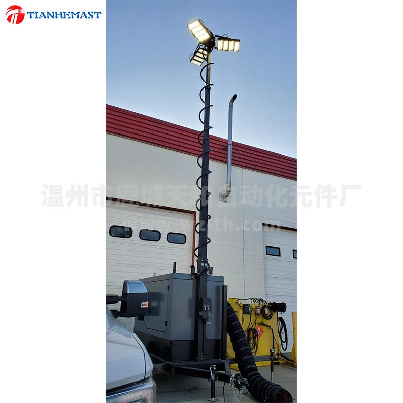 MEM*5-70绞盘式电动升降桅杆
