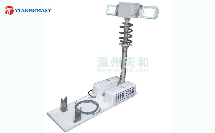 Lampe élévatrice pliante directe d'usine,Lumière d'ascenseur de voiture,Lampe élévatrice inversée,Lampe de levage à manivelle