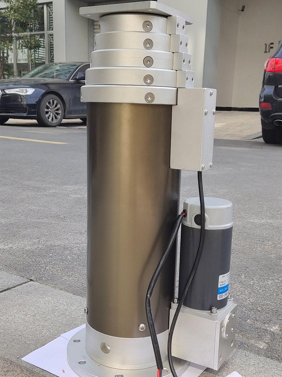 MHDX serie de multi-sección de tornillo mástiles elevadoras eléctricas