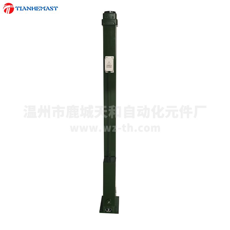 MEE*3-40军绿色电动升降桅杆